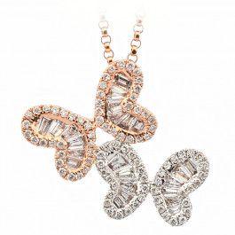 Bijuteria teilor: Colier aur si diamante