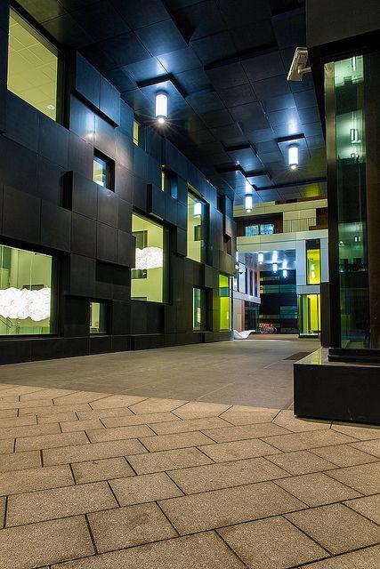 Corridor at the Barcode, OperaKvarteret, Oslo