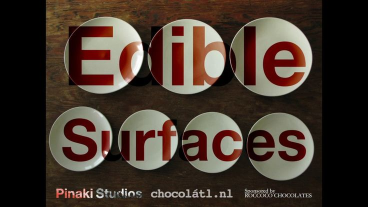 Edible Surfaces