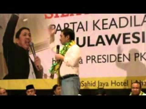 Orasi Presiden PKS Anis Matta, Lc di Ballroom Makassar Sulawesi Selatan di hadapan 5000 kader dan simpatisan PKS Sulsel, 10 Februari 2013.