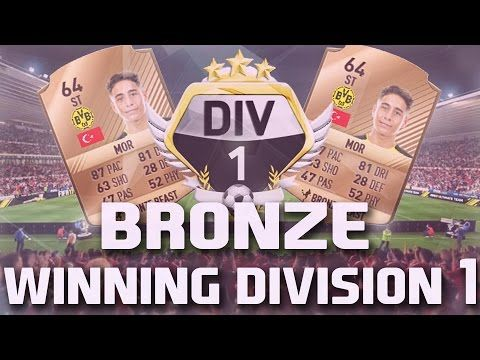 http://www.fifa-planet.com/fifa-ultimate-team/winning-division-1-with-a-bronze-team-live-episode-1-fifa-17-ultimate-team/ - WINNING DIVISION 1 WITH A BRONZE TEAM LIVE | EPISODE 1 FIFA 17 ULTIMATE TEAM  Let's smash 500 Likes for this first episode, and let me know if you want to see the double upload tomorrow!! ► Follow Me! • Twitter – • Twitch –  MY DESIGNER – goofingfx@gmail.com — In this video I start my journey in division 1 with a bron
