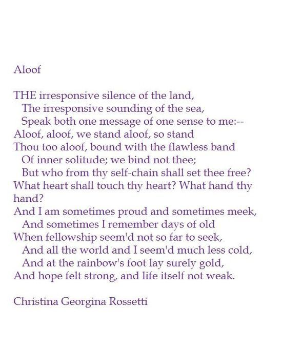 symbolism in christina rossettis poem uphill 'shut out' by christina rossetti  the persona of the poem 'shut out' expresses various attitudes and emotions throughout the poem  symbol, and example--of his.