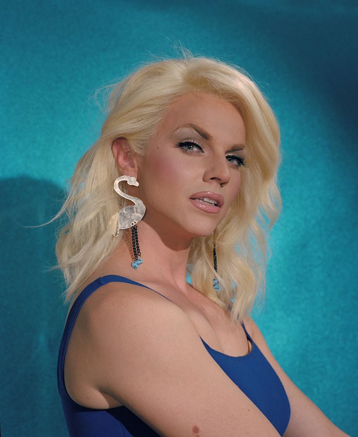 Courtney Act for The Fader by Molly Matalon