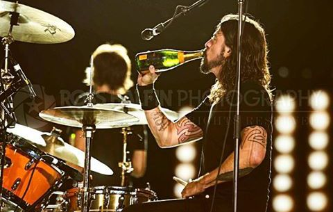 Dave Grohl by Ross Halfin Photography