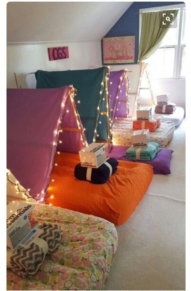 So Cute For A Sleep Over Party Decoratingideasforkidsroomssleepover