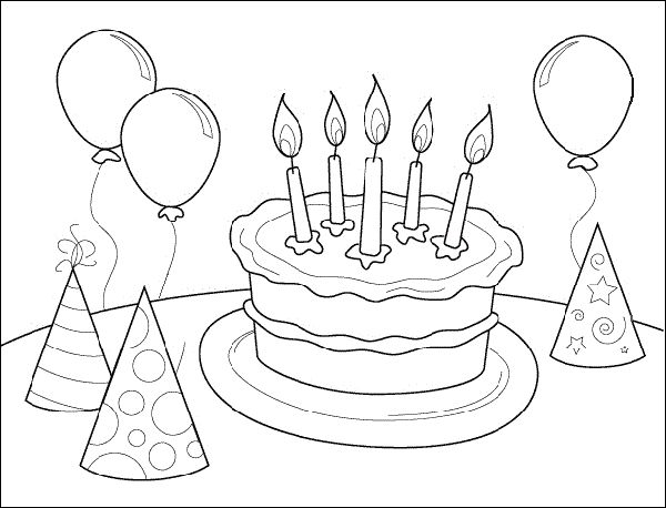 129 best images about Coloring: B-day's, Parties & More on ...