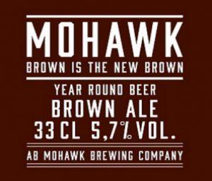 Mohawk Brown Is The New Brown / är en mörk ale med mjuk karamellsötma och inslag av mörk choklad och kaffe. I typisk västkuststil har den bryggts med generösa mängder amerikansk humle som balanserar maltigheten. Passar att drickas som sällskapsdryck eller till grillat.
