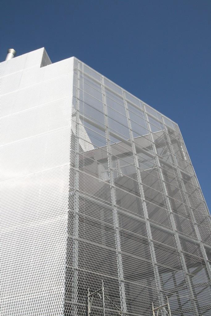 OIZ Zürich -  Architekt: Krucker von Ballmoos -  Masche: Lucerna - Streckmetall