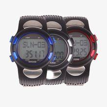 Podomètre Stappenteller P1005M 3D Podomètre Moniteur de Fréquence Cardiaque Montre-Bracelet avec Rétro-Éclairage Rouge de Course Fittness Accessoires EA14(China (Mainland))