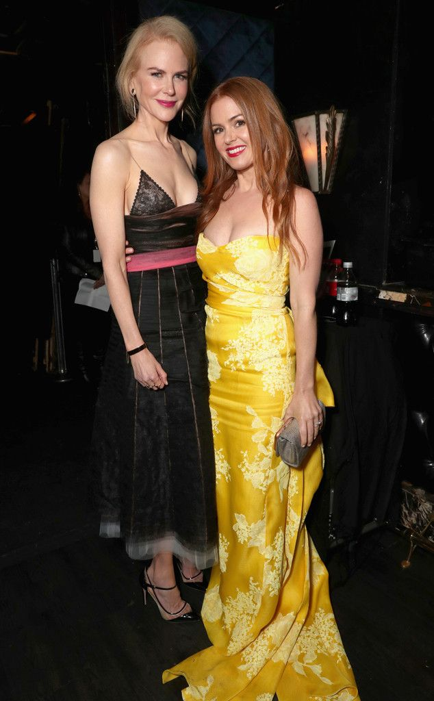Nicole Kidman & Isla Fisher ,The actresses attend The 6th AACTA International Awards in Los Angeles.