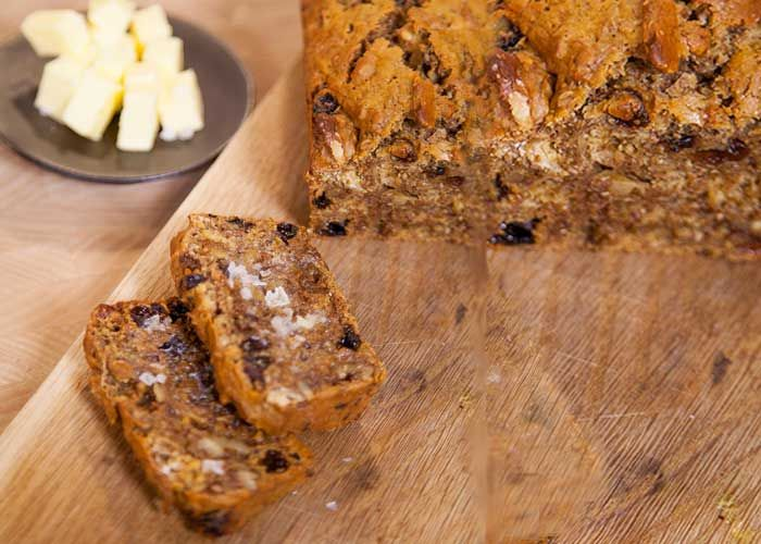 Try this Kellogg's All-Bran, Nut and Raisin Bread for a yummy and wholesome tea time treat!
