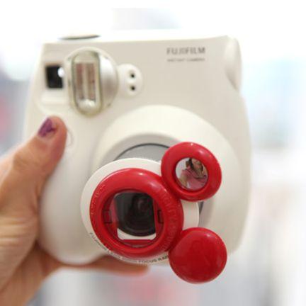 Mickey Mouse Fuji Instax Mini 7 Close Up Lens $22.95