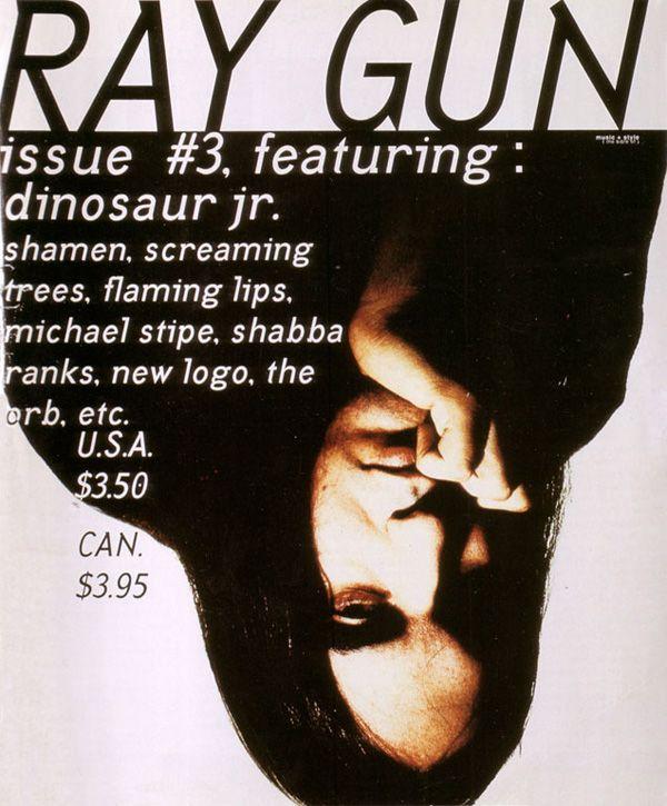 Raygun Magazine, David Carson                                                                                                                                                                                 More