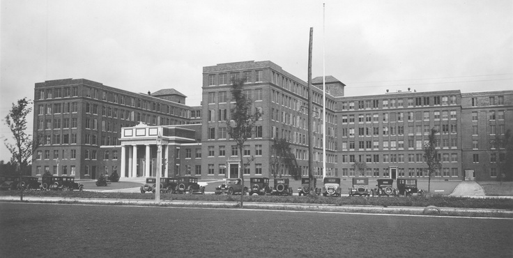 Strong Memorial Hospital c. 1926