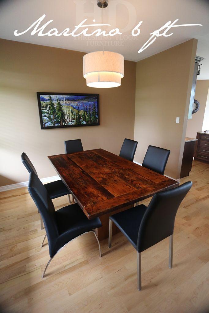Reclaimed Wood Plank Table With Epoxy/polyurethane Finish  Www.hdthreshing.com