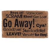 Found it at Wayfair - Go Away Synonyms Doormat