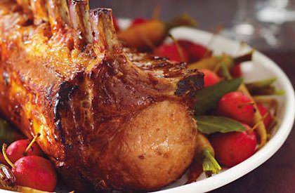 Le carré de porc au cidre de glace, une autre délicieuse façon de savourer le porc du Québec.