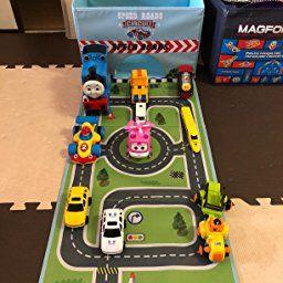 Amazon | Eggsnow おもちゃ収納ボックス プレイマット付き 衣類収納ケース 折りたたみ式 おもちゃ箱  | かご・ボックス | ベビー&マタニティ 通販