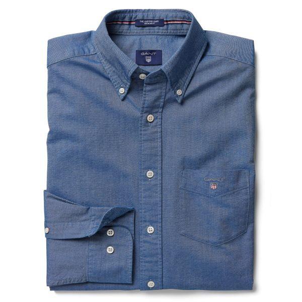 GANT: Blue Oxford Shirt Men's | GANT USA Store