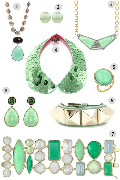 St. Patty's Day costume jewelry ideas!!!!