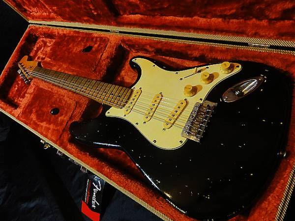 ☆★ Blackie Relic Lacquer Stratocaster レリック ビンテージコンデンサー,良質パーツ使用 クラプトン★☆_画像1