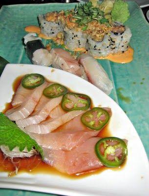 Tao's sashimi/sushi