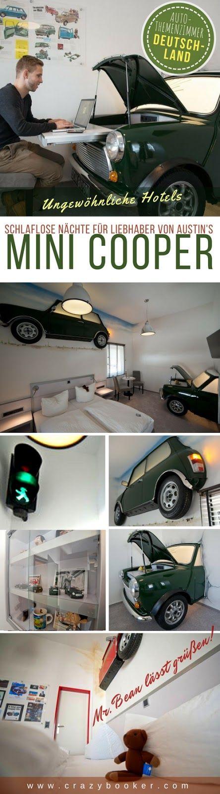 Austin Mini Cooper Erlebnis-Zimmer | Diese ungewöhnlich gestaltete Hotelunterku… – Crazybooker.com | Unique Hotels of the world | We follow back!