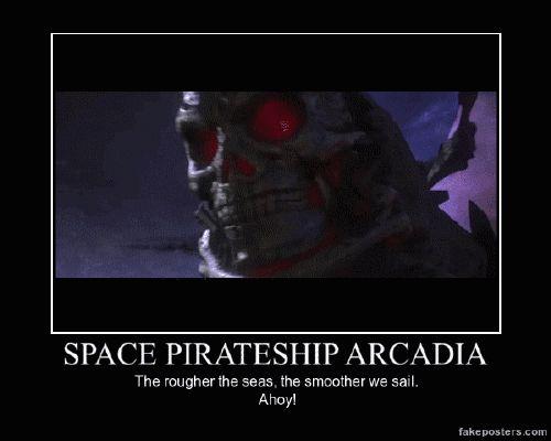 Space Pirate Captain Harlock Aracadia