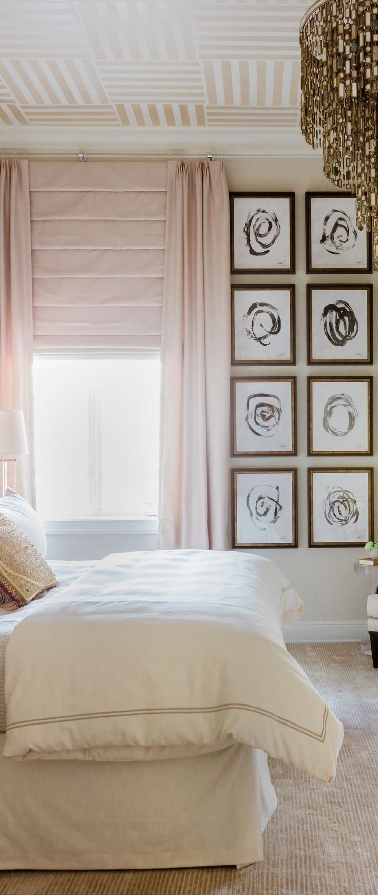 Bedroom design ideas bedroom with gallery wall this feminine and