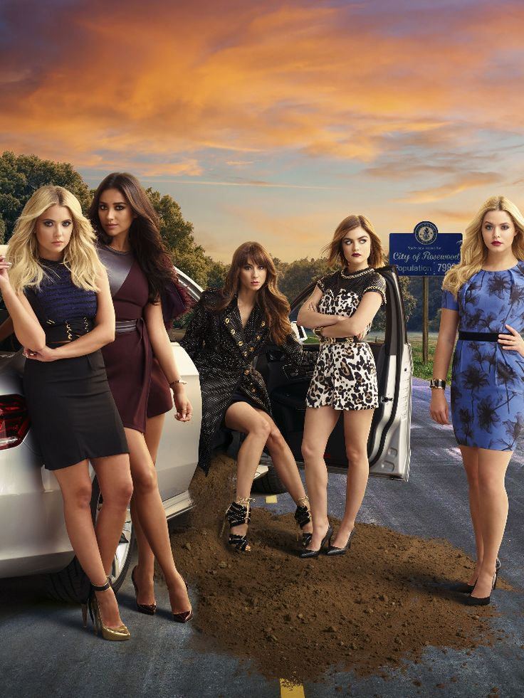 Get excited for the 2nd half of #PrettyLittleLiars season 6 with this new image.  #PLL