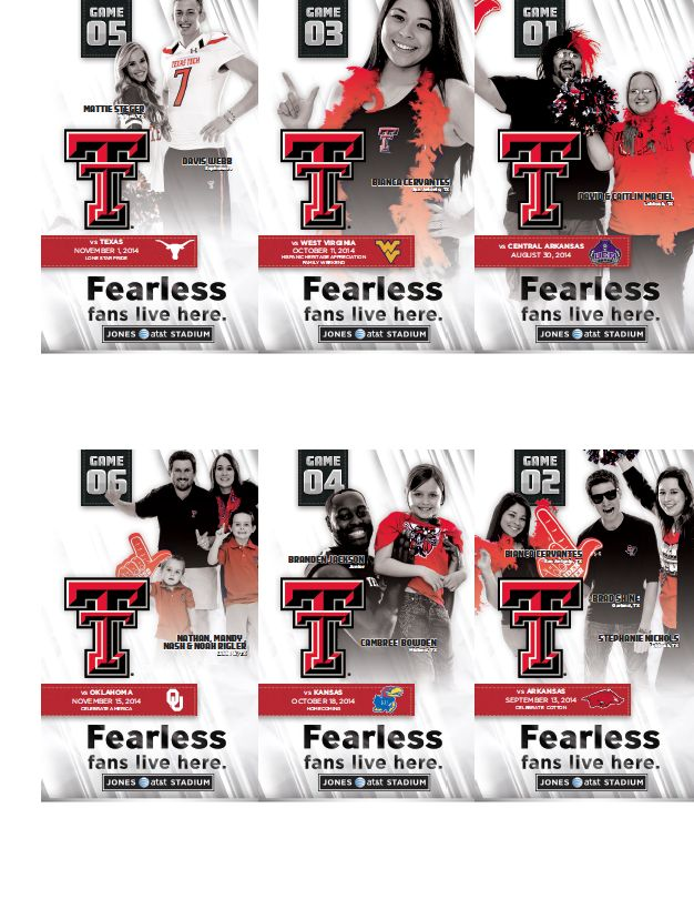 Texas Tech Football Tickets (2014)