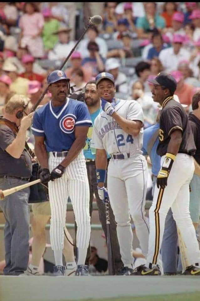 77e05aba75 Wrigley Field, all star week @ 1992 - Andre Dawson, Ken Griffey Junior,