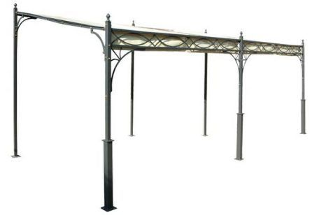 tettoia in ferro battuto copertura d arredo per il