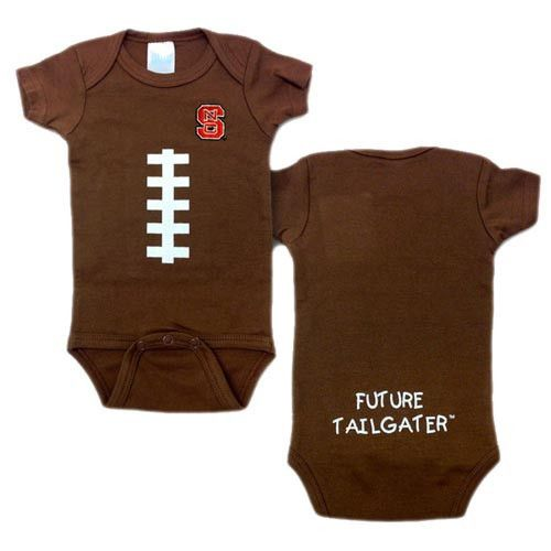 NC State Wolfpack Football Future Tailgater Onesie