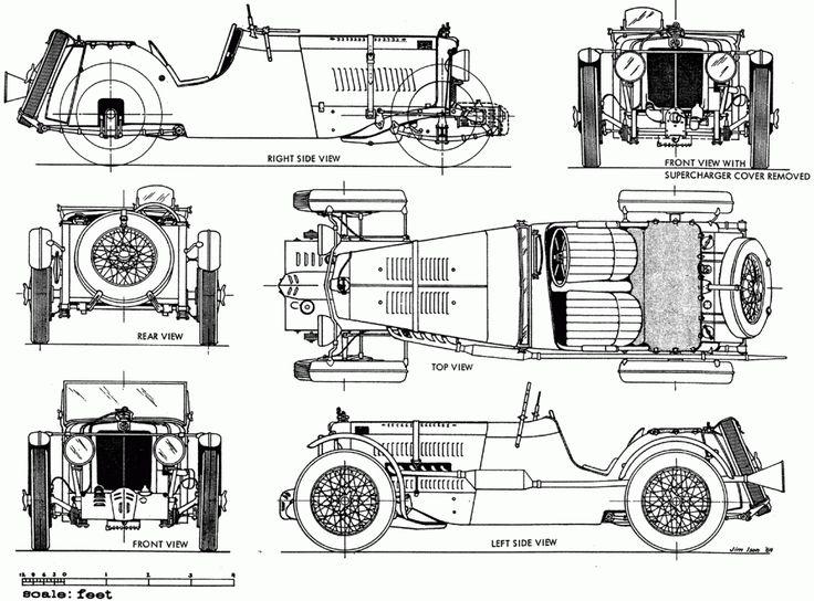 1000  images about auto model blueprints on pinterest