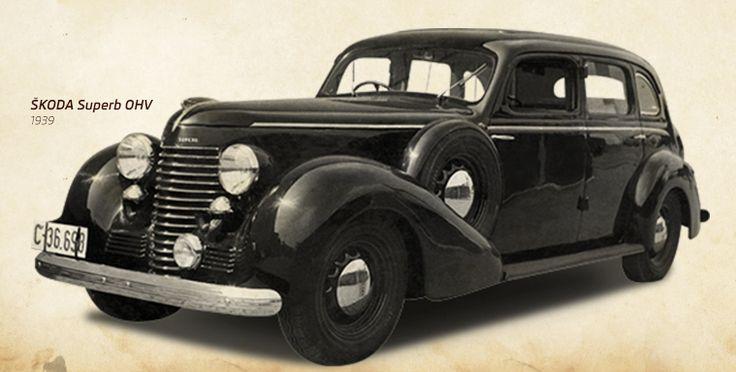 SKODA Superb OVH (1939) #SKODA #SkodaStory