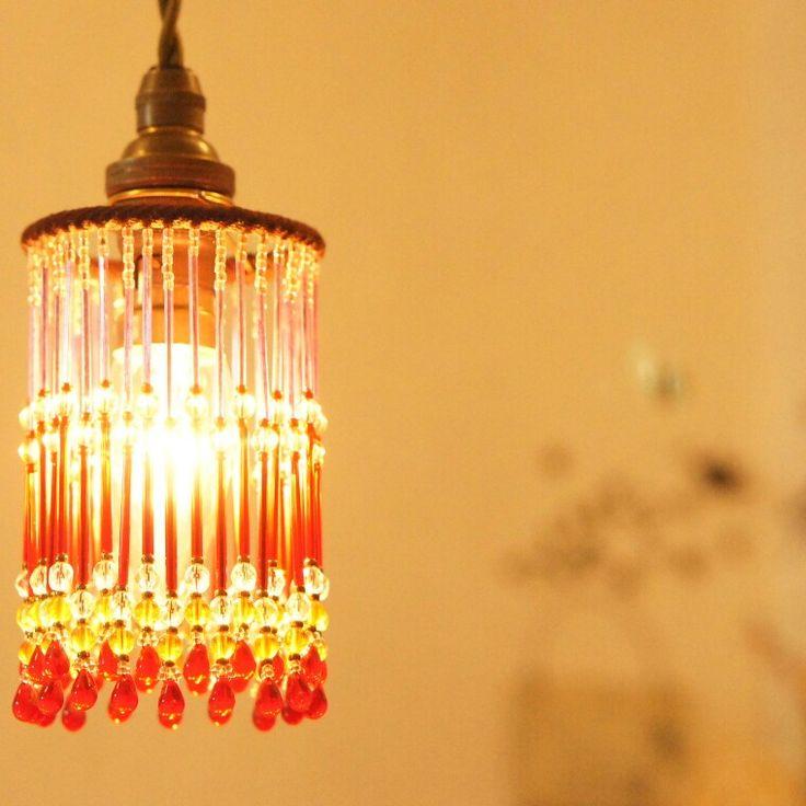 ビーズランプ aura * beads lamp of Aurarumin  http://www.aura-lumino.com/