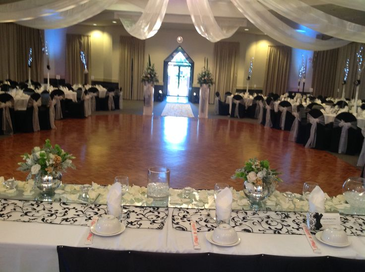 110 best adelaide wedding reception images on pinterest marriage black and white wedding reception decor featuring patterned table runners ceiling lighting and swags junglespirit Image collections
