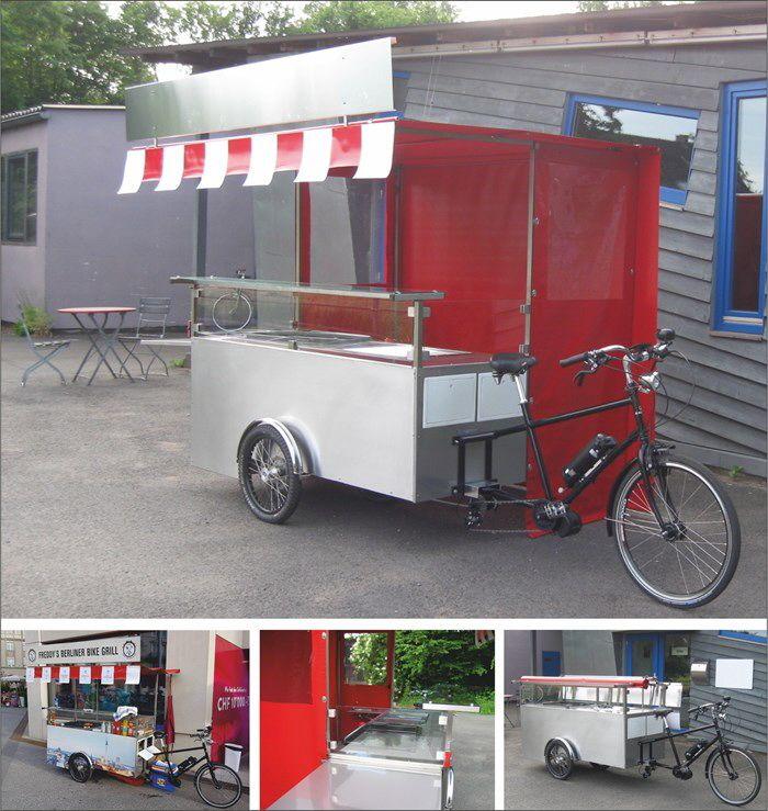 Grillfahrrad,Straßenimbiss Fahrrad, Gasto Bike, Food Bike,Street Food Bike,snacks on bikes, Grillbike,