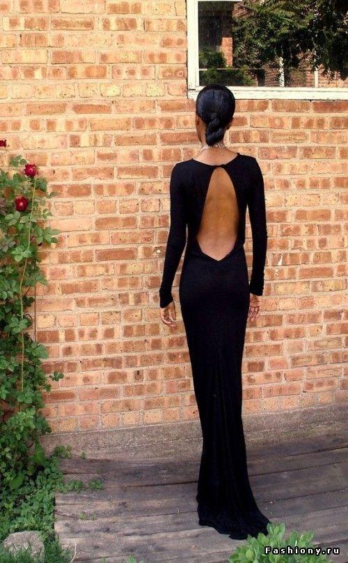 классическое платье с открытой спиной фото: 18 тыс изображений найдено в…