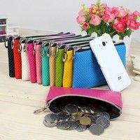 Wish   Women Wristlet Wallet Credict Card Coin Long Wallet Clutch Zipper Purse Handbag