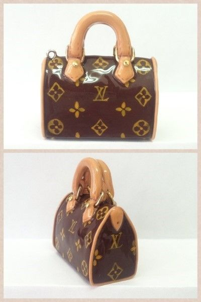 Fimo Louis Vuitton... asian text, but easy to follow picture tutorial.