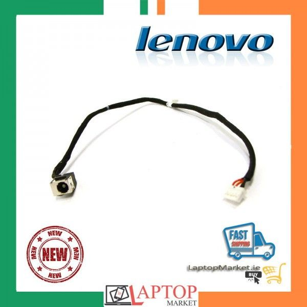 DC Power Jack Harness Port Connector Socket with Wire Cable. DC-IN Jack for Lenovo Ideapad Y510P Series DC30100KV0J