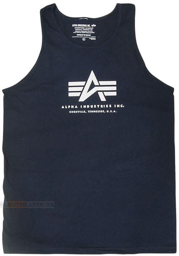 Футболка Alpha Tank Top Alpha Industries (Navy) Розміри: під замовлення Ціна: 18 $
