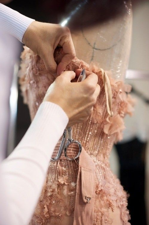 Backstage Elie Saab Haute Couture SS 2011