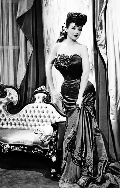 Gypsy Rose Lee in Belle of the Yukon, 1944. S)
