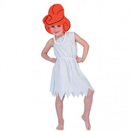 #Disfraz de #Wilma #Picapiedra infantil. Completo disfraz de Wilma, este disfraz incluye la peluca. El precio de este disfraz te dejará con la boca abierta ya que es muy barato. Para más info entra en nuestra #tienda de #disfraces #online. Clica aquí http://mercadisfraces.es/trogloditas-y-cavernicolas/disfraz-de-wilma-picapiedra-infantil.html