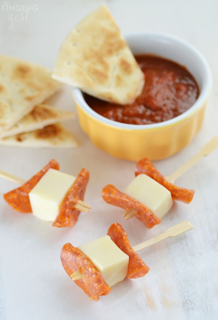 Pizza Dippers for School Lunch