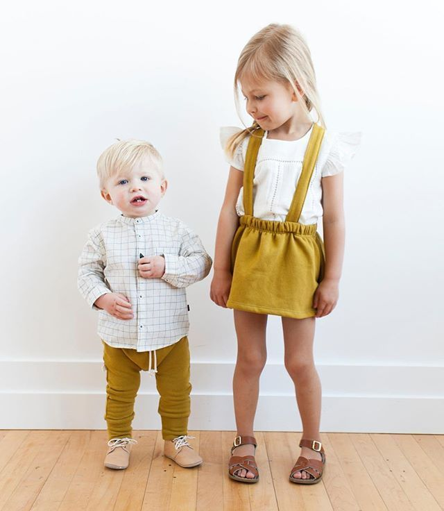 Childhoods Spring clothing line for boys and girls.