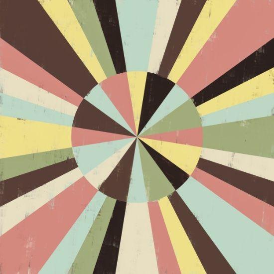 Color wheel art print by metron color wheels rose - Sage green color wheel ...